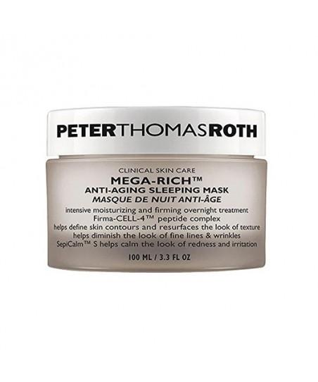 Peter Thomas Roth Mega-Rich Anti Aging Sleeping Mask 100ml - Sıkılaştırıcı ve Yoğun Nem Veren Gece Maskesi