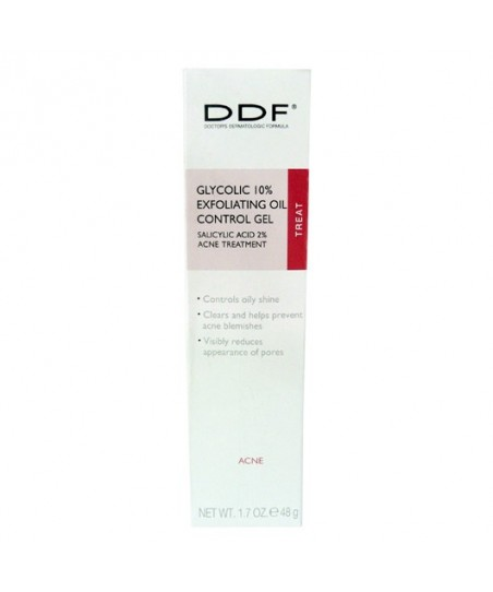 DDF Glycolic 10% Exfoliating Oil Control Gel 48gr