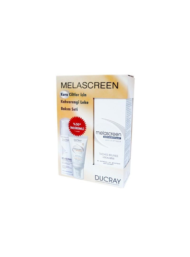 Ducray Melascreen Kuru Ciltler İçin Kahverengi Leke Bakım Seti