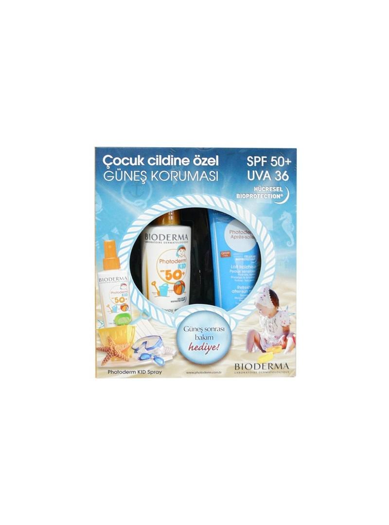 Üretimi Durdurulmuş Bioderma Photoderm SPF 50+ Kid Spray 200 ml + After Sun  100 ml HEDİYE bacfd4023849