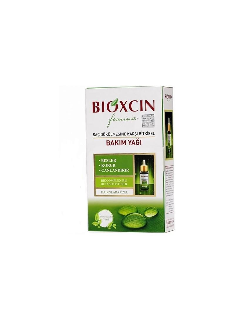 Bioxcin Femina Saç Dökülmesine Karşı Bitkisel Bakım Yağı 30 ml