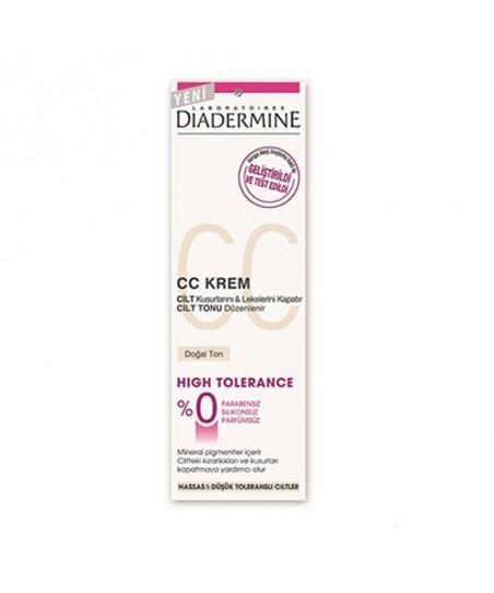 Diadermine High Tolerance Cc Krem 50ml Doğal Ton
