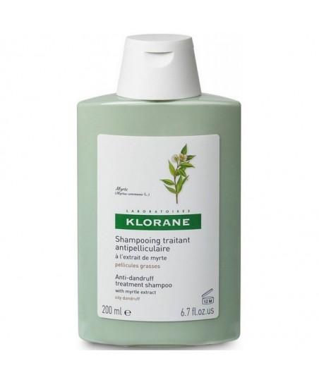 Klorane Yaban Mersini Ekstresi İçeren Yağlı Kepeğe Karşı Bakım Şampuanı 200 ml