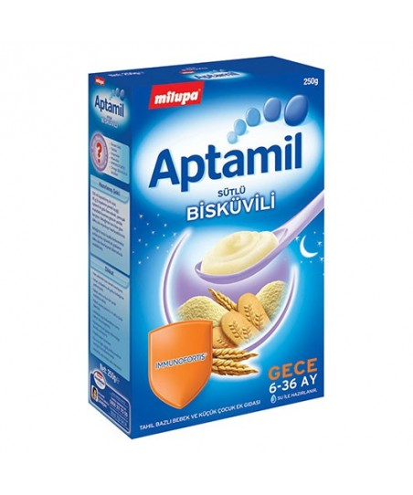 Milupa Aptamil Sütlü Bisküvili 250 gr