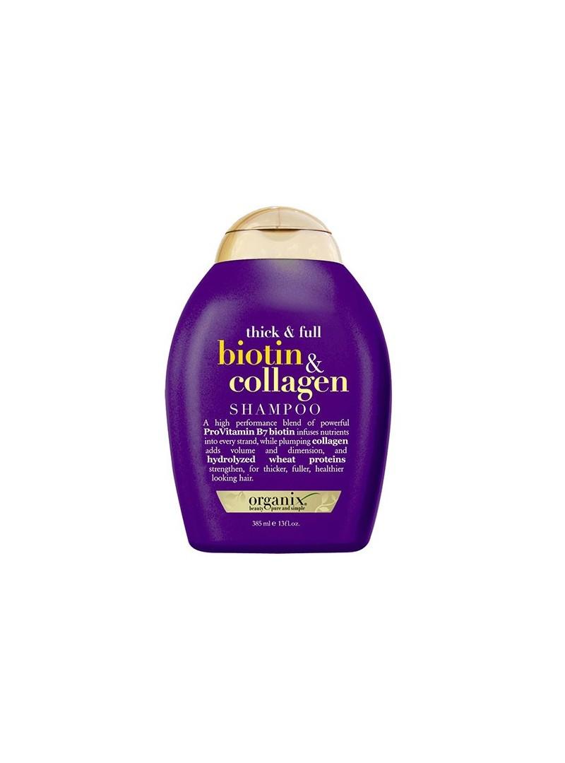 Organix Biotin & Collagen Shampoo 385 ml - Full Dolgunlaştırıcı ve Uzatıcı Şampuan