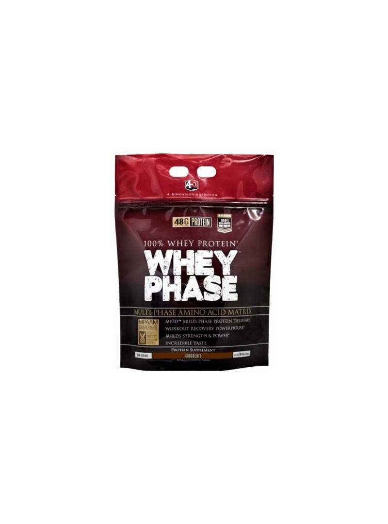 4D Whey Phase % 100 Whey Protein Tozu