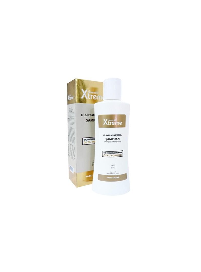 Dermokil Xtreme Kil ve Keratin İçerikli Şampuan 250 ml - Yağlı Saçlar