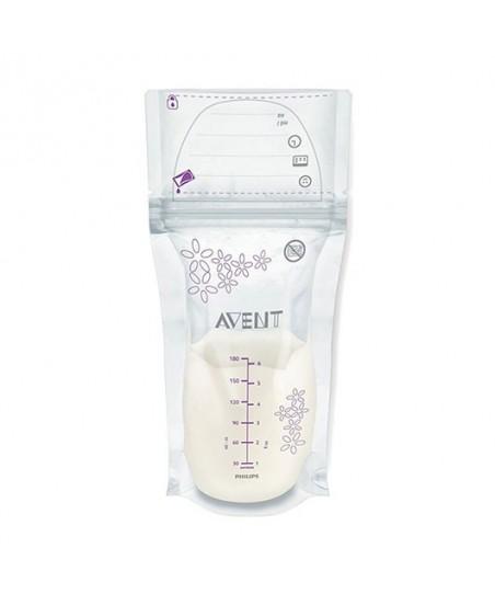 Philips Avent Süt Saklama Poşeti 180ml 25li