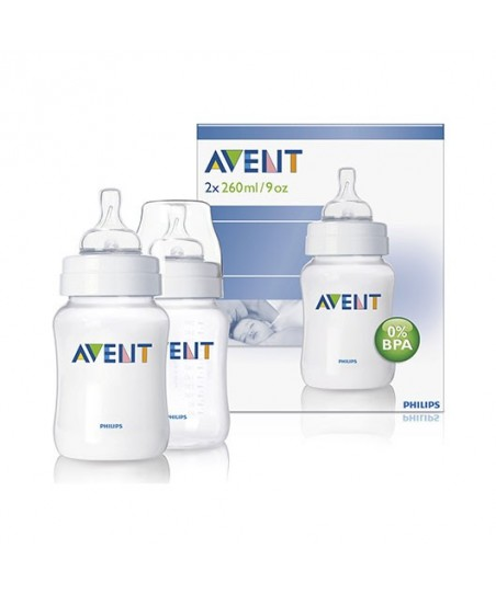 Philips Avent Biberon 260ml (PP) 2'li %0 BPA