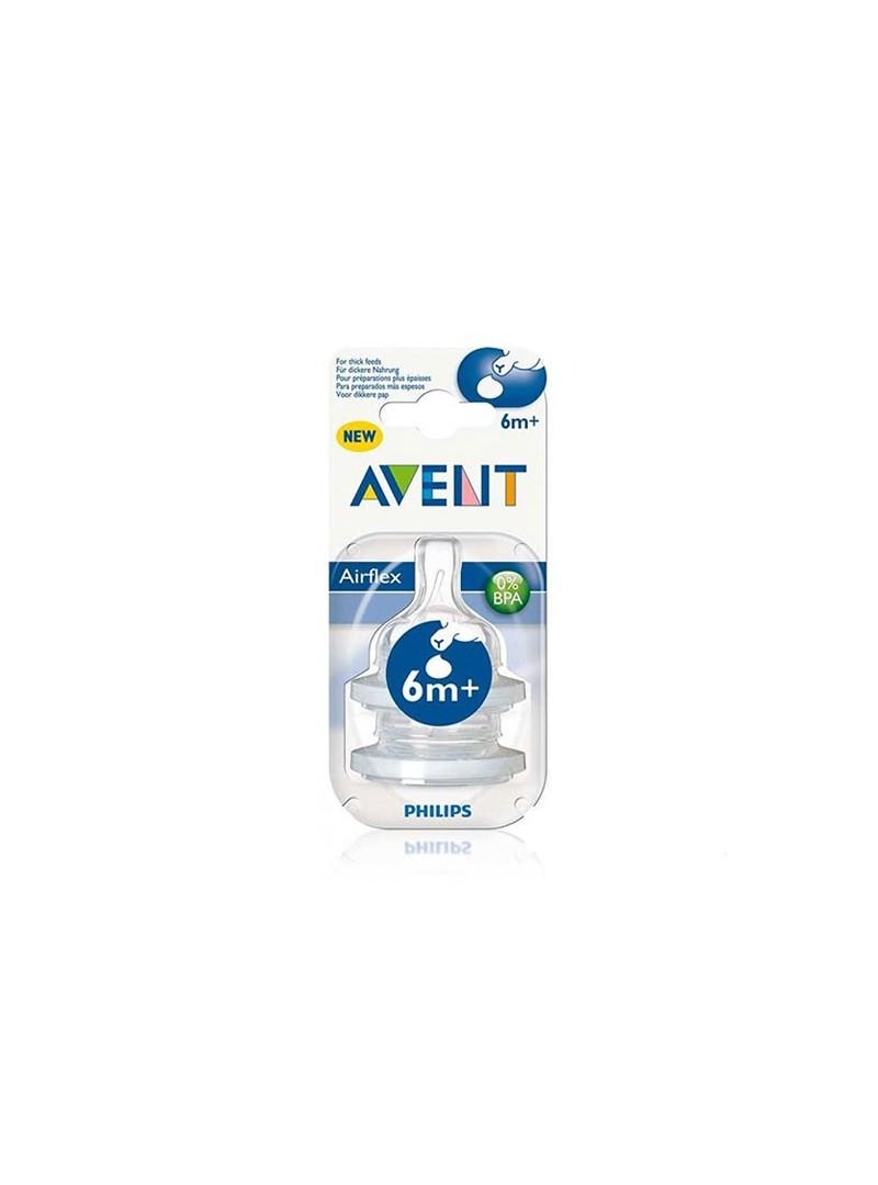 Philips Avent Biberon Emziği Y.Kesik 2'li SCF636/27