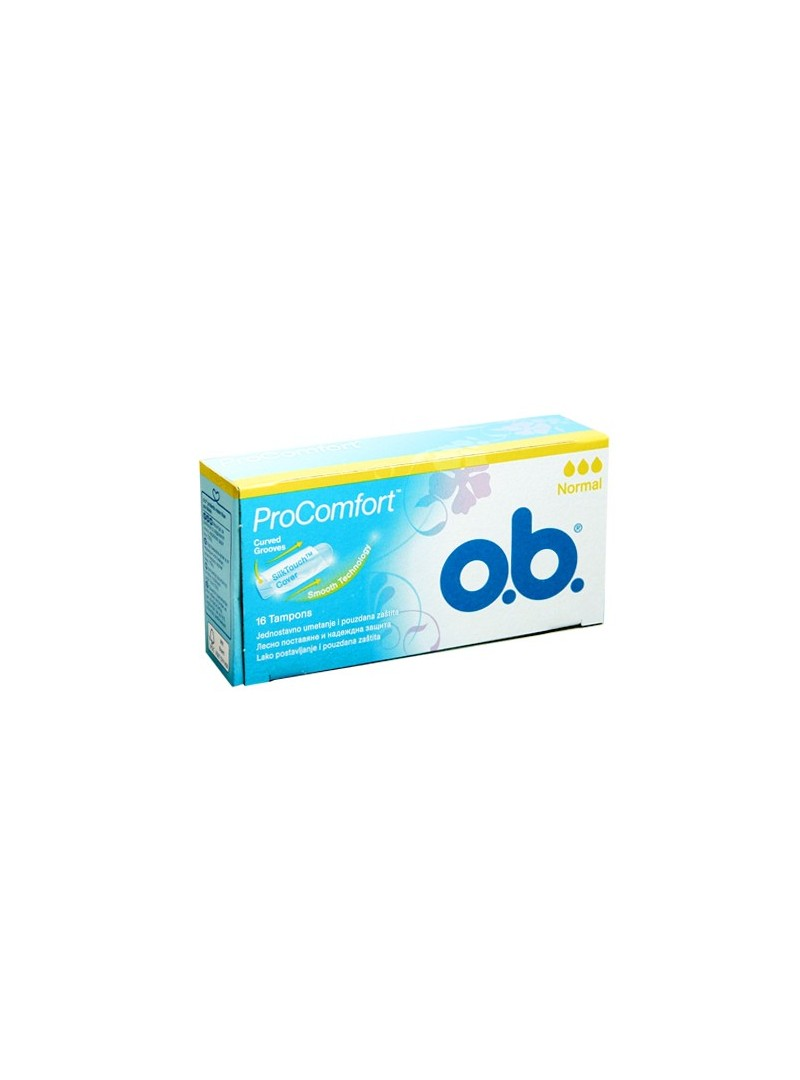 O.B. Pro Comfort Normal Tampon 16 Adet