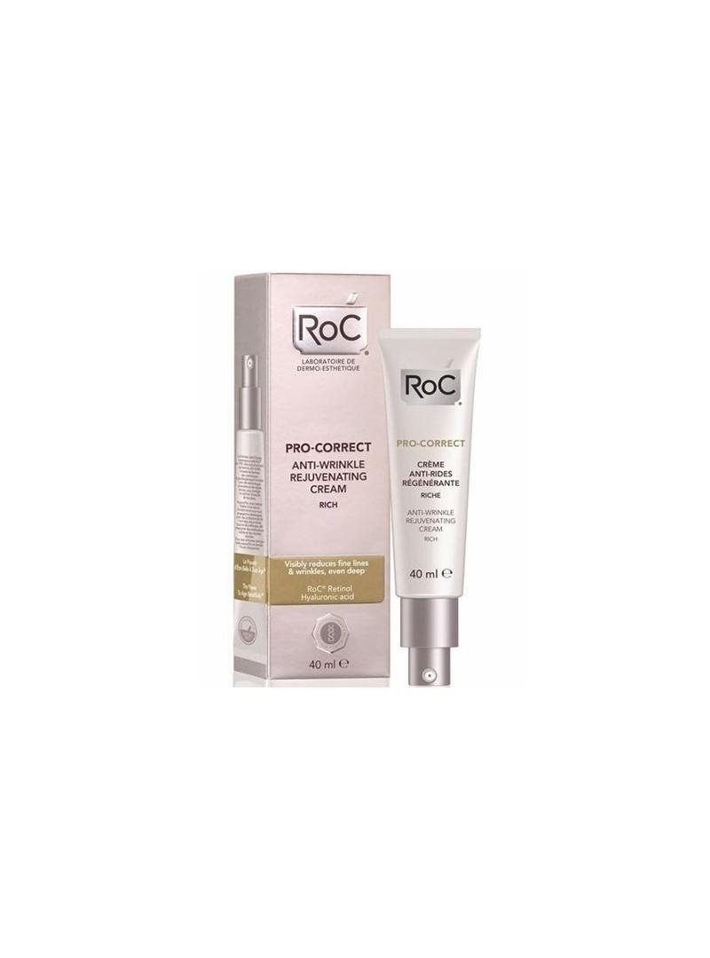 Roc Pro-Correct Anti-Wrinkle Rich Cream - Kırışık Karşıtı Canlandırıcı Yoğun Bakım Kremi 40 ml