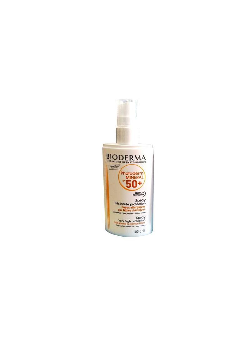 Bioderma Photoderm Mineral Spray Spf50+ 100gr
