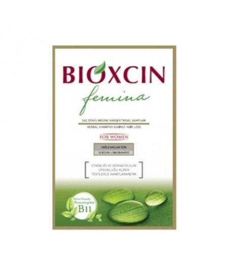 Bioxcin Femina Şampuan Bayan Yağlı Saçlar 300 ml