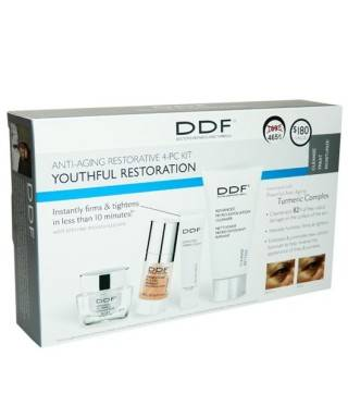 DDF Anti-Aging Restorative 4-PC Kit Youthful Restoration