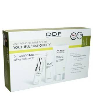 DDF Anti-Aging Sensitive 3-PC Kit Youthful Tranquility