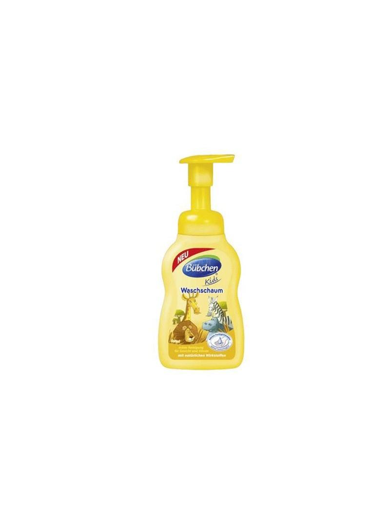 Bübchen Çocuk Yıkama Köpüğü El ve Yüz Safari 300 ml