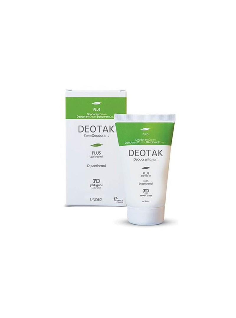 Deotak Plus Tea Tree Oil Krem Deodorant 35ml