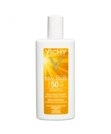 Vichy Ideal Soleil Çok Yüksek Korumalı Ultra Akışkan Yüz Kremi SPF50 40ml