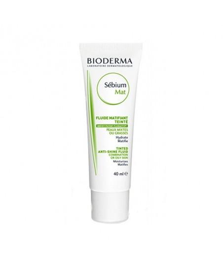 Bioderma Sebium Tinted Anti-Shine Cream
