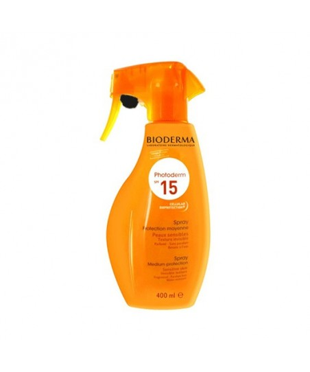 Bioderma Photoderm  Spray Spf 15  400ml - Aile Boyu