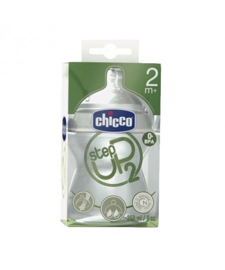 Chicco Step Up 2 Biberon 250ml 2+
