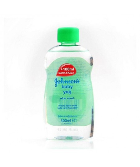 Johnsons Baby Yağ Aloe Veralı 300 ml