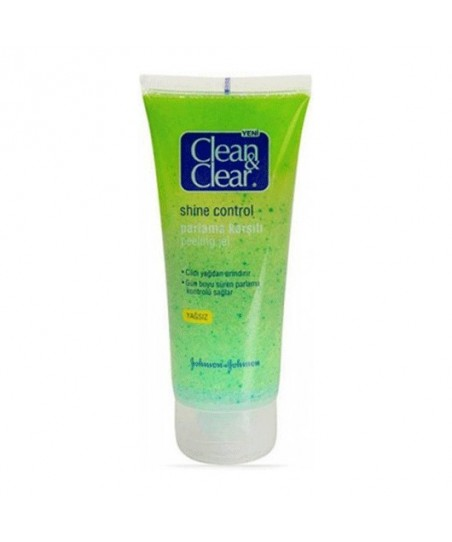 Clean & Clear Shine Control Parlama Karşıtı Peeling Jel 100 ml