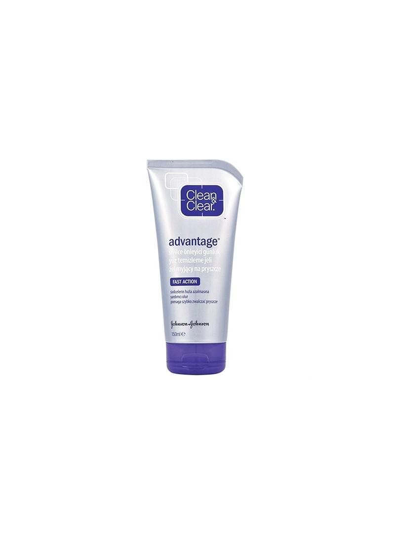 Clean & Clear Advantage Akne Karşıtı Yüz Temizleme Jeli 150 ml