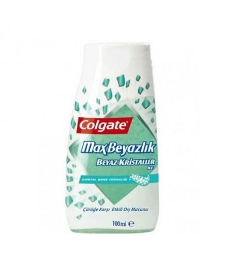Colgate Max Beyazlık Beyaz Kristaller Diş Macunu 100 ml