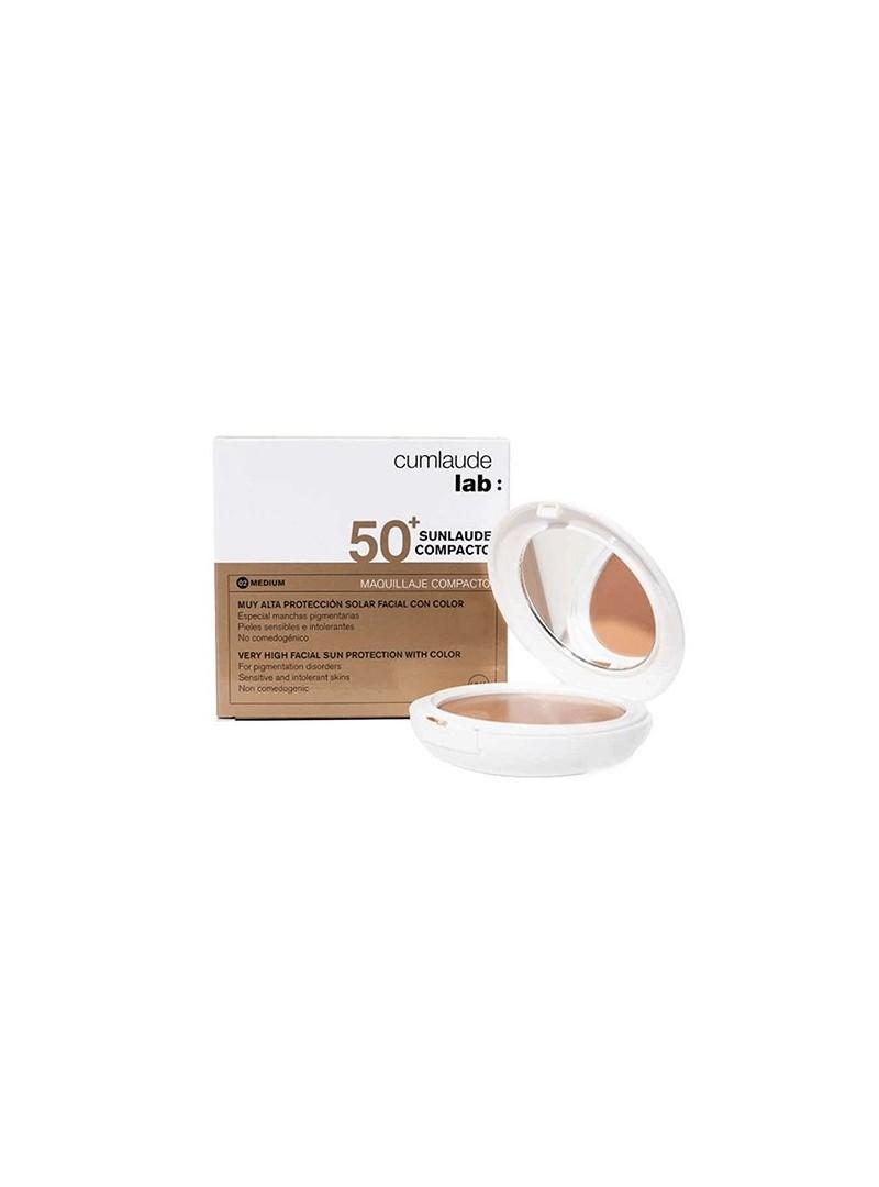 Cumlaude Lab Sunlaude SPF 50 Compact 10g Medium