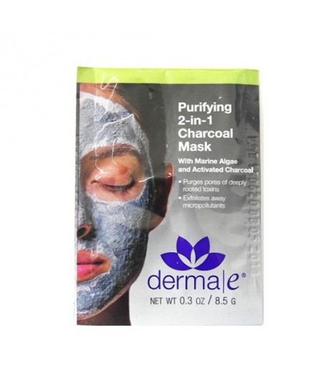 Derma E Purifying 2-in-1 Charcoal Mask 8.5g