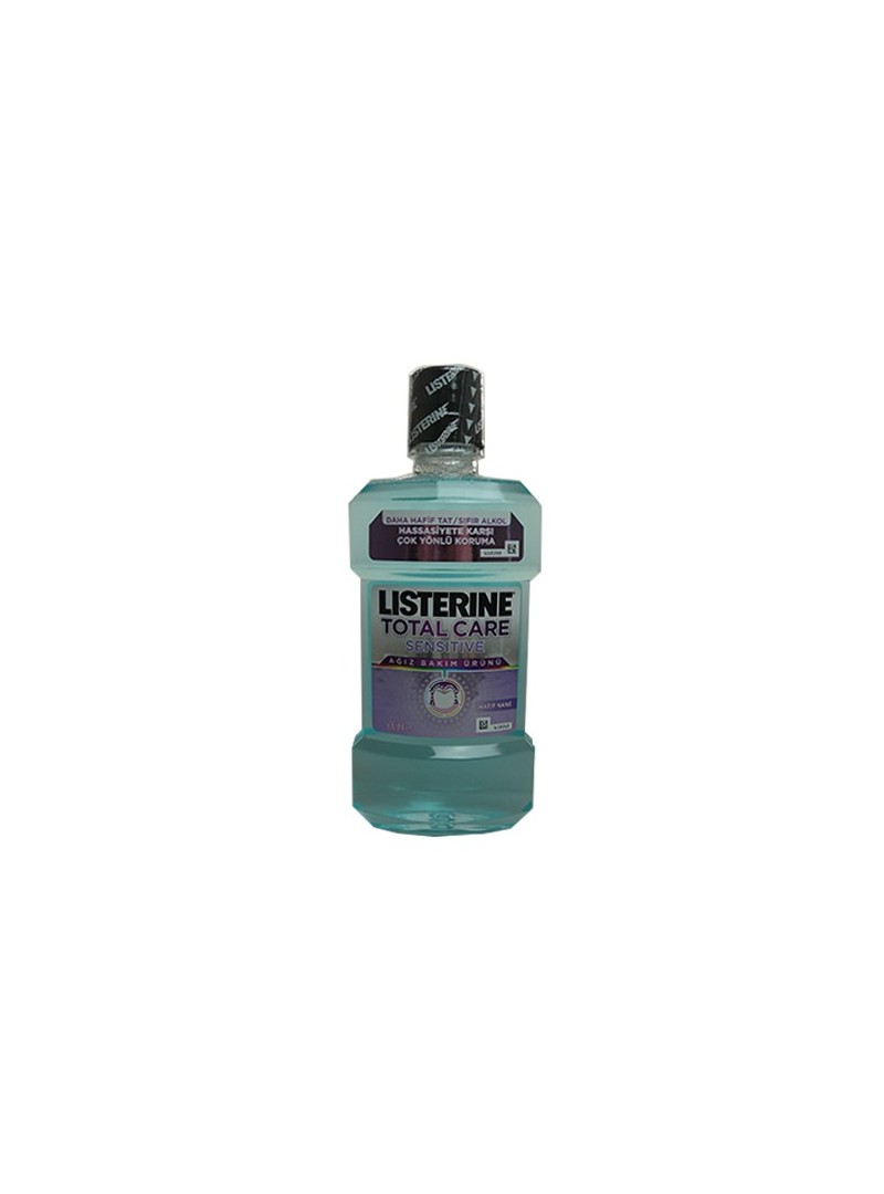 Listerine Total Care Sensitive Ağız Gargarası 500 ml - Hafif Nane