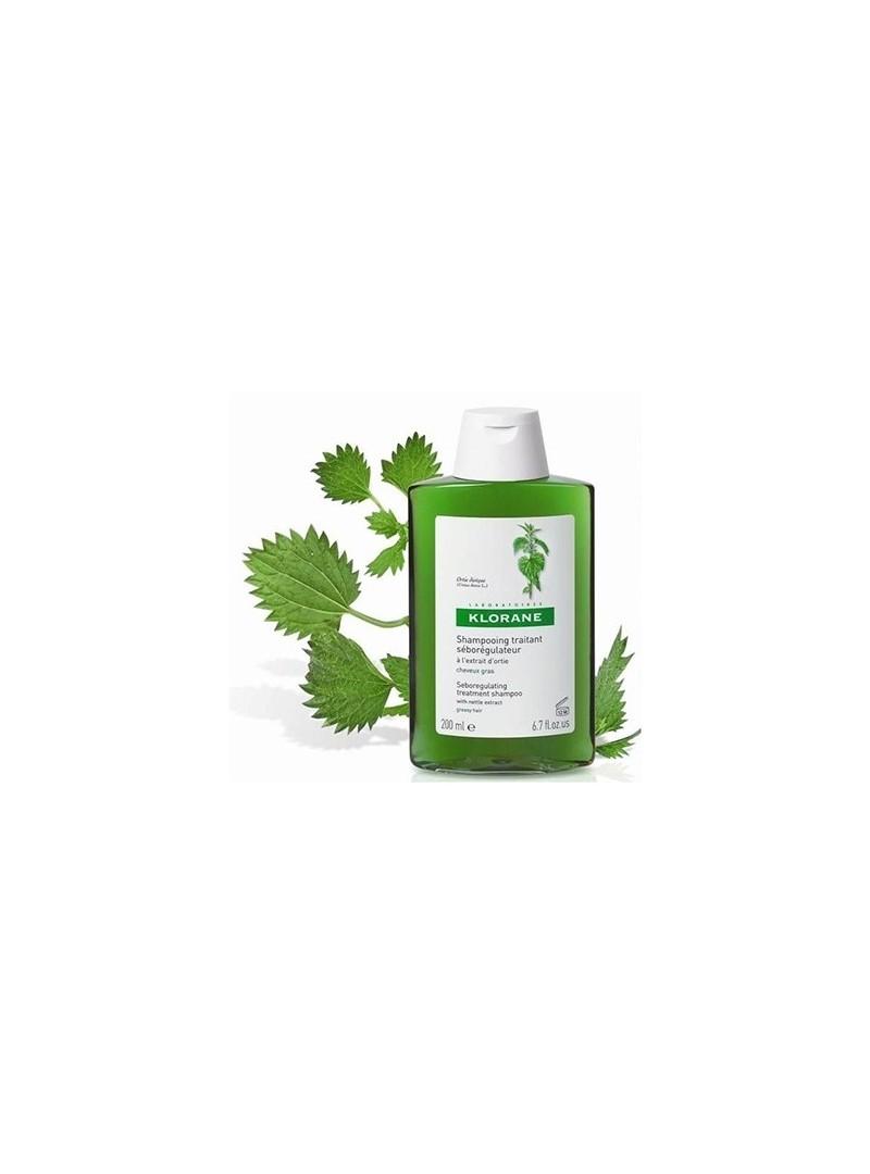 Klorane Isırganotu Ekstresi İçeren Yağlı Saçlar İçin Bakım Şampuanı 200 ml