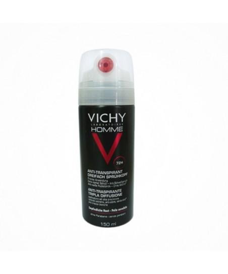 Vichy Homme Anti Transpirant 72H - Terleme Karşıtı Deodorant Yoğun Kontrol 72 Saat Etkinlik