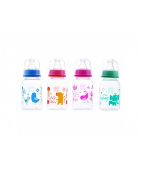Bebedor Biberon Plastik 125 ml. Emzik Hediyeli
