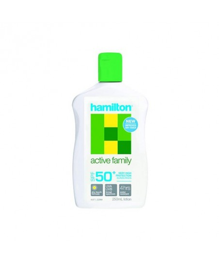 Hamilton Active Family Losyon SPF50+ 250ml