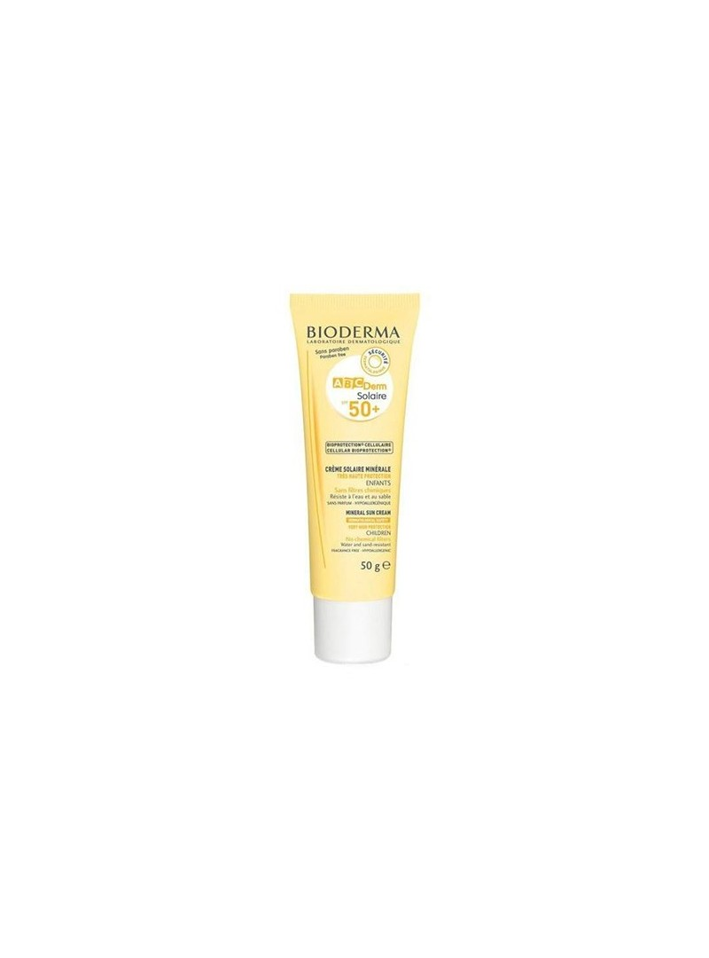 Bioderma ABCDerm Mineral Sun Cream Spf 50+ 50 gr