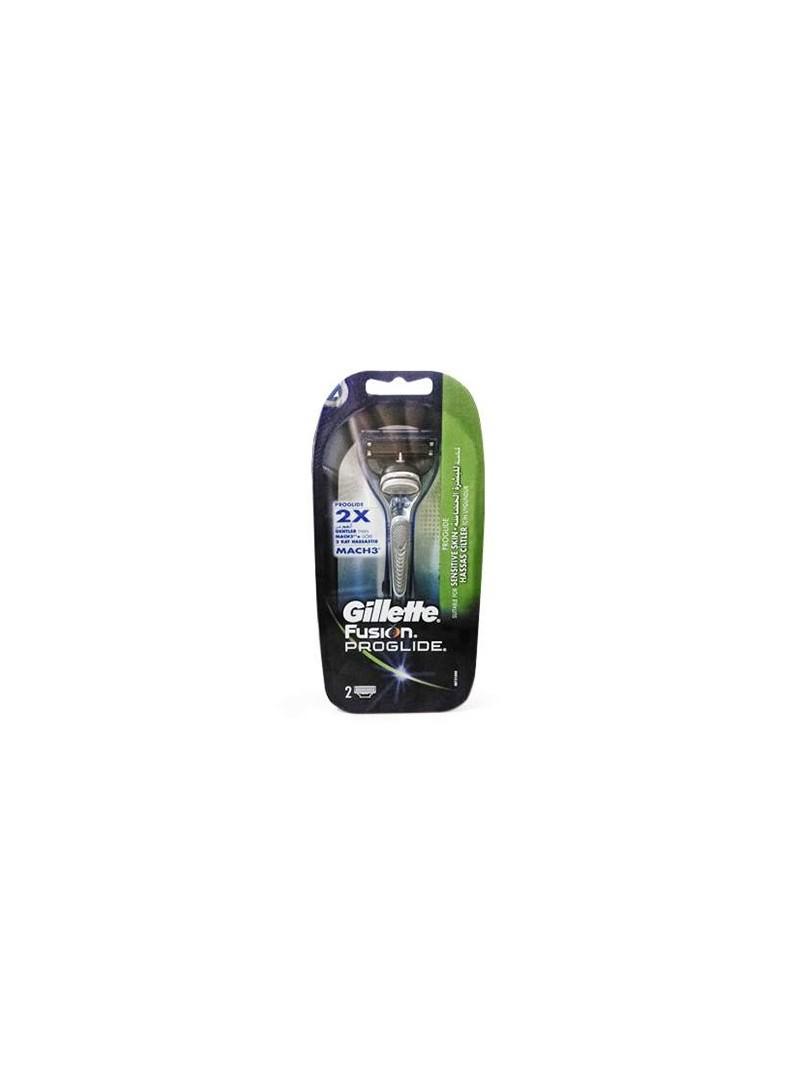 Gillette Fusion ProGlide Tıraş Makinesi Hassas Ciltler İçin Yedekli