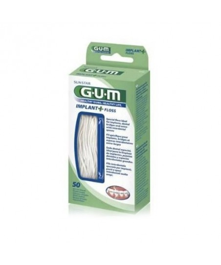 Gum İmplant Floss Diş İpi 50 Adet