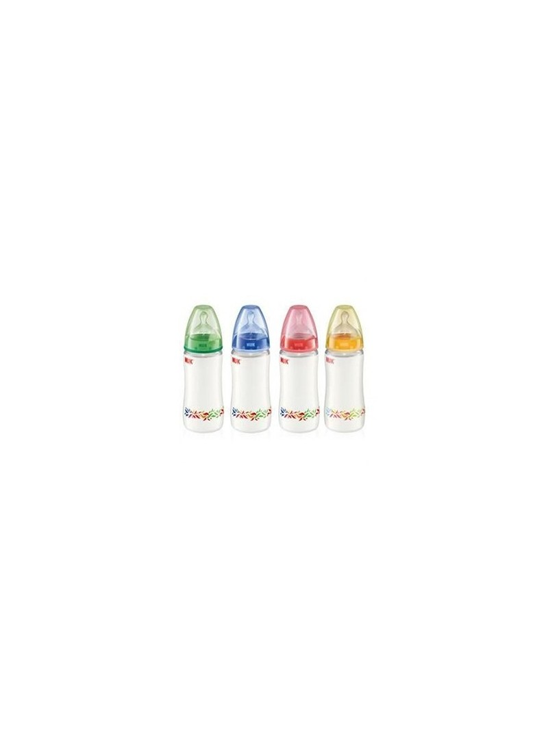 NUK FIRST CHOICE Silikon Emzikli PP Biberon (300 ml)