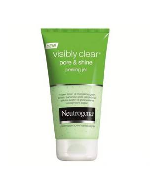 Neutrogena Visibly Clear Pore & Shine Peeling Gel ve Temizleme Jeli 150ml