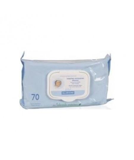 Klorane Bebe Bebekler için Temizleme Mendili 70 li