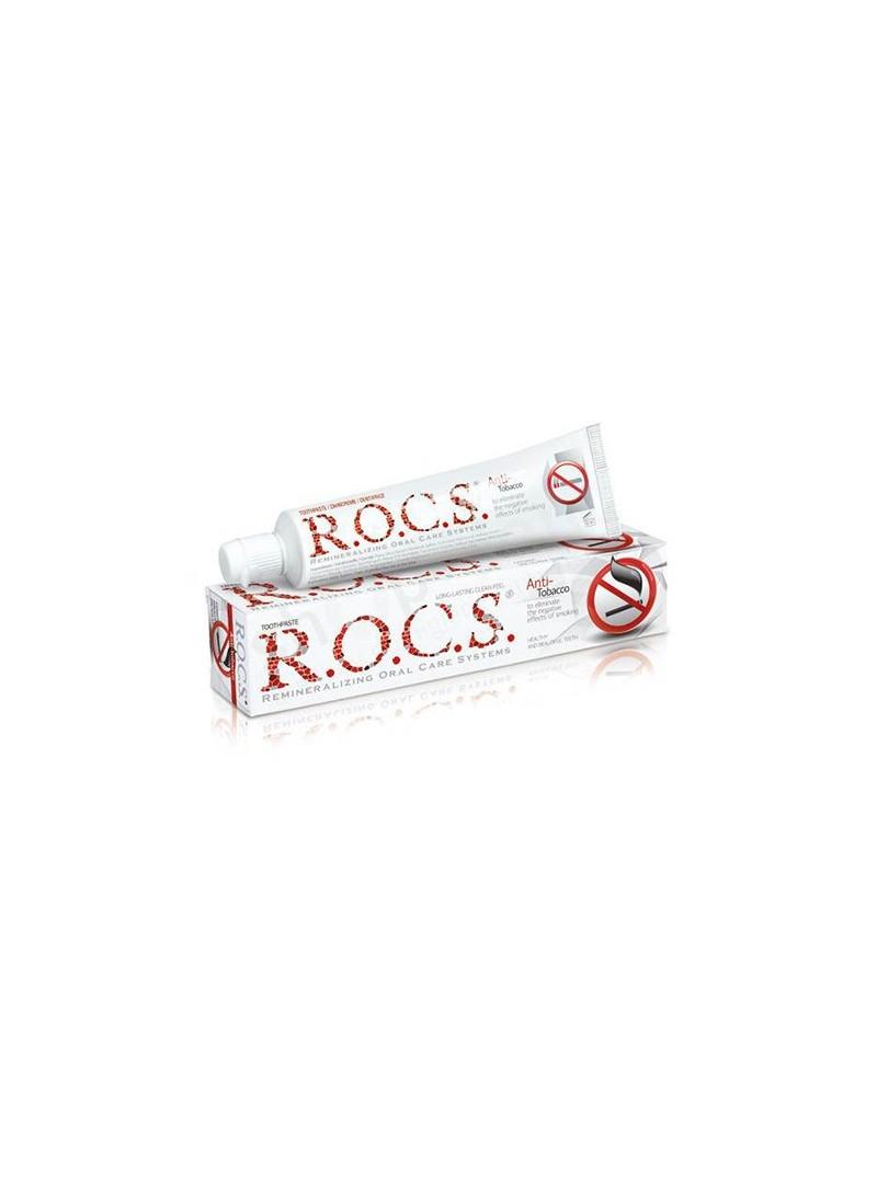 Rocs Anti-Tobacco Sigara İçenler İçin Diş Macunu 74gr
