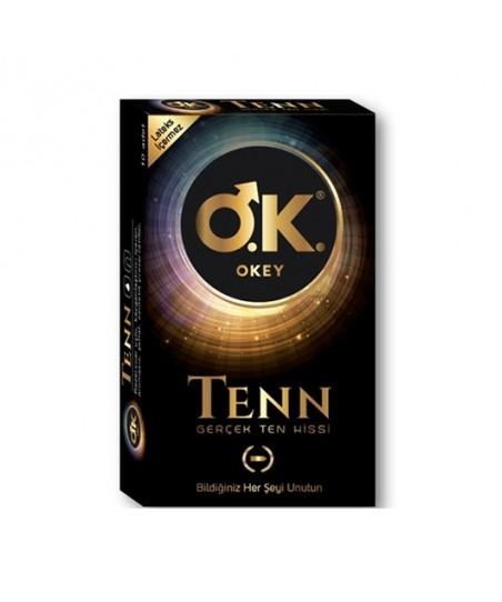 Okey Tenn Gerçek Ten Hissi Prezervatif 10'lu