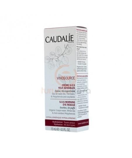 Caudalie Vinosource Creme S.O.S Yeux Sensibles Cream 15 ml