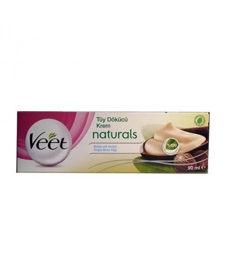 Veet Tüy Dökücü Krem Naturals Doğal Shea Yağı 90 ml
