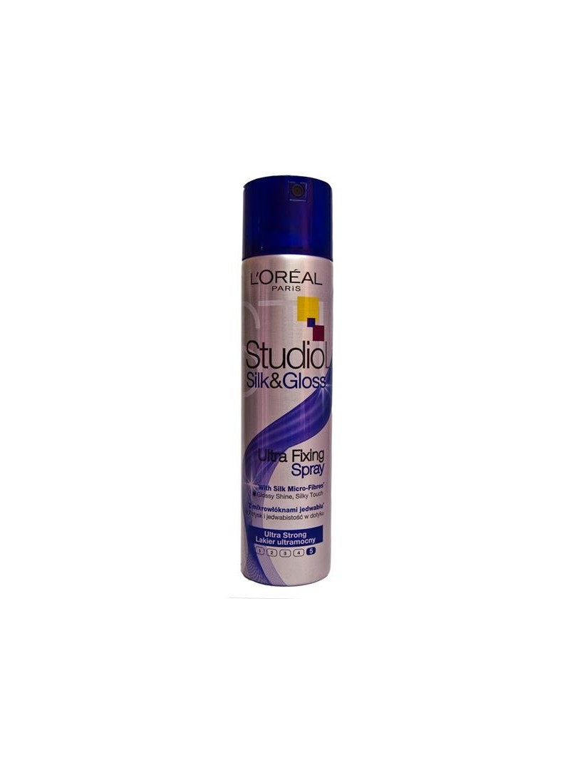 Loreal Paris Studio Line Silk&Gloss Ultra Fixing Spray 250 ml