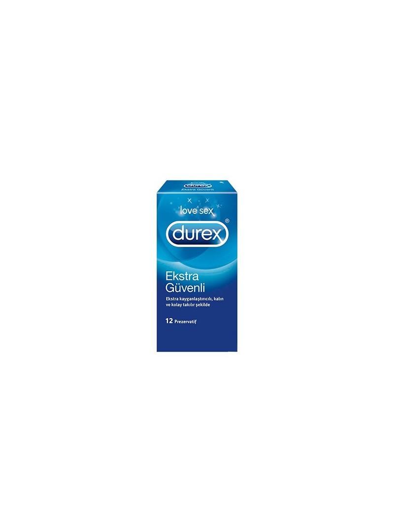 Durex Extra Safe Prezervatif (Ekstra Güvenli) 12'li