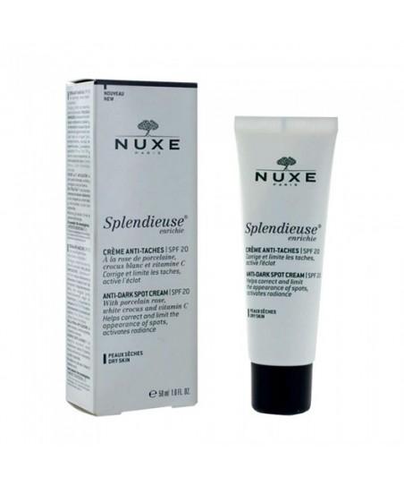 Nuxe Splendieuse Enrichie Anti-Dark Spot Cream Spf 20 50ml